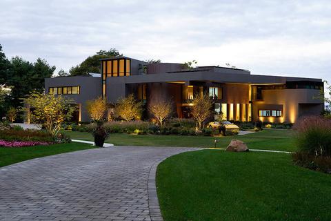 每日豪宅 | 智能环保的纽约长岛海湾水景大宅