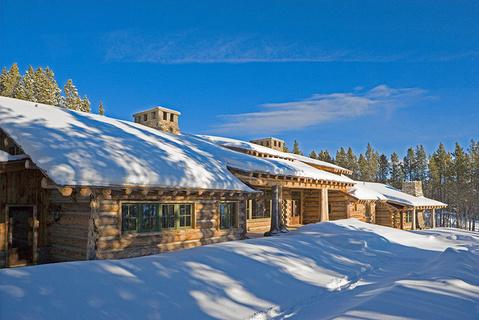 每日豪宅 | 工艺精湛的蒙大拿州滑雪之乡山顶豪宅