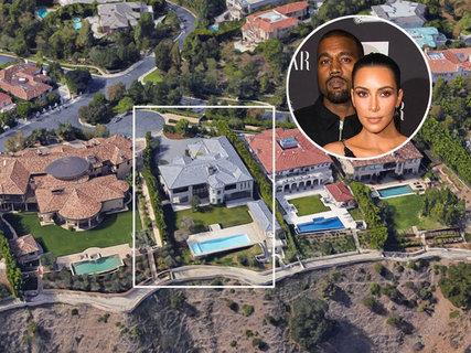 """金·卡戴珊和""""侃爷""""洛杉矶旧居半年内再度转售"""