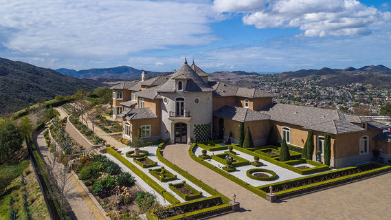 每日豪宅 | 加州高档社区的法式城堡庄园