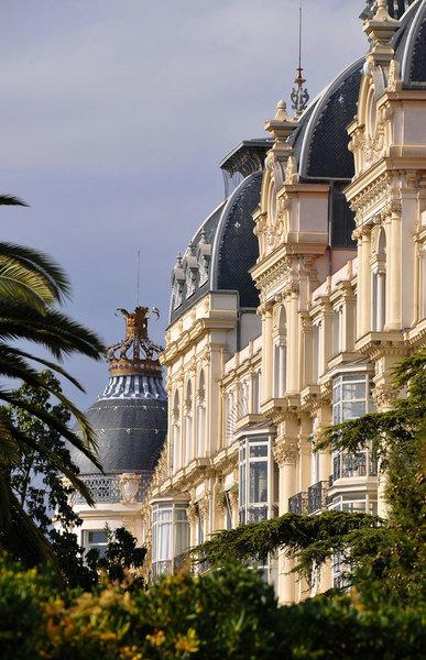 Palais Regina at Cimiez quarter, Nice