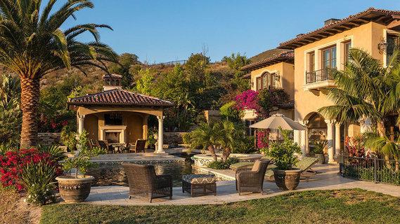 每日豪宅   附带葡萄园的南加州山地豪华大宅