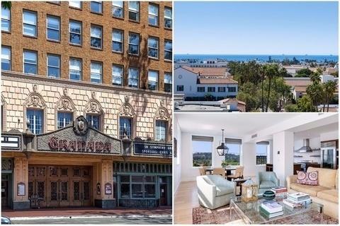 每日豪宅 | 居高望远的圣巴巴拉老剧院顶层公寓