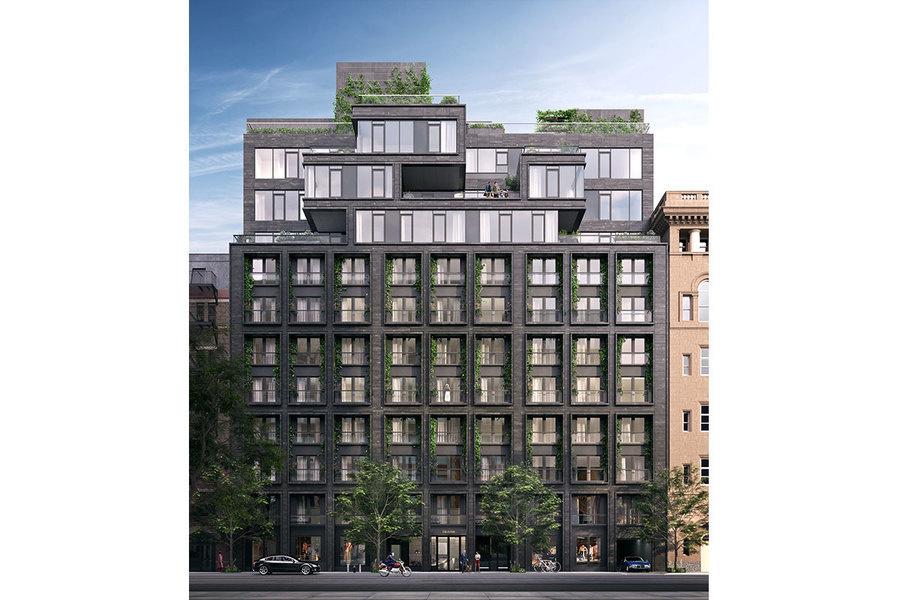 ODA-Architecture está diseñando el edificio, que estará localizado en el número 155 de la calle West