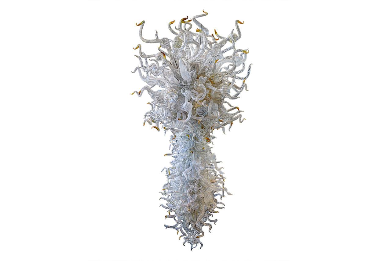 美国玻璃艺术大师戴尔·奇胡利(Dale Chihuly)的水晶吊灯作品