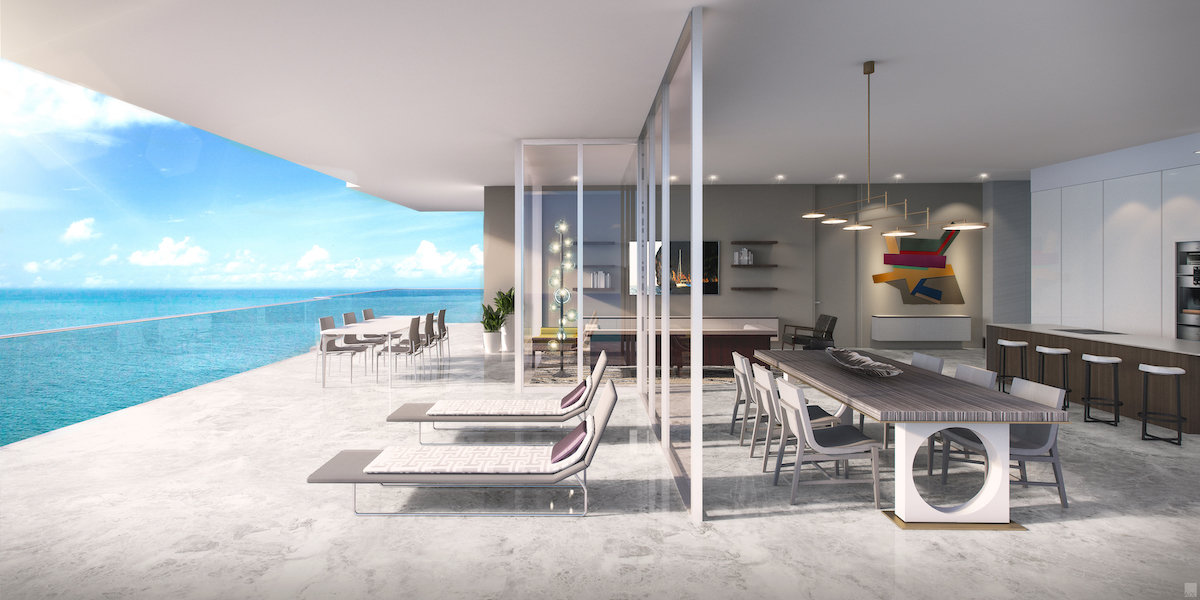 A rendering of a L'Atelier Residences property in Miami.