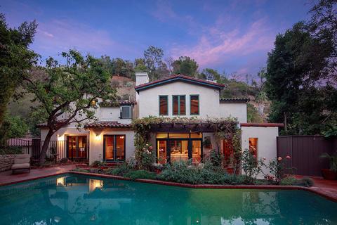 每日豪宅 | 充满西班牙风情的比弗利山庄名人宅邸