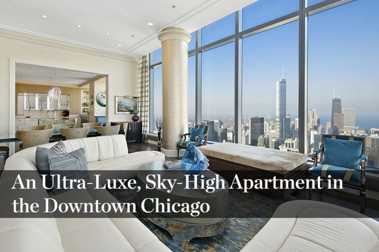 One Bennett Park Chicago Floor Plans: Penthouse In Chicago's Tallest Residential Tower To Ask