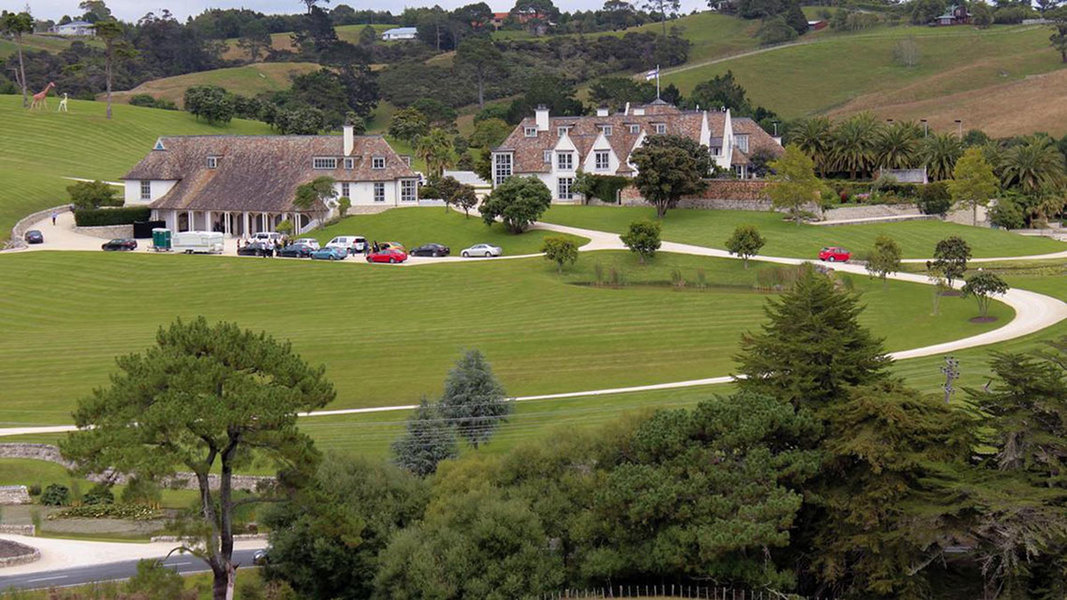 NZ$32.5 million sale of a 2,375 square meter 12-bedroom mansion in Coatesville, 30 kilometers northwe