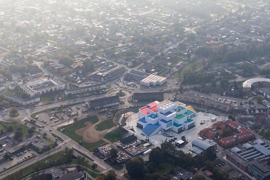 La sede de LEGO en Dinamarca