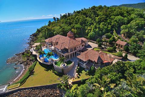 每日豪宅 | 附带码头和直升机坪的澳洲临海大宅