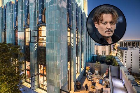 约翰尼·德普售出第四套洛杉矶顶层公寓