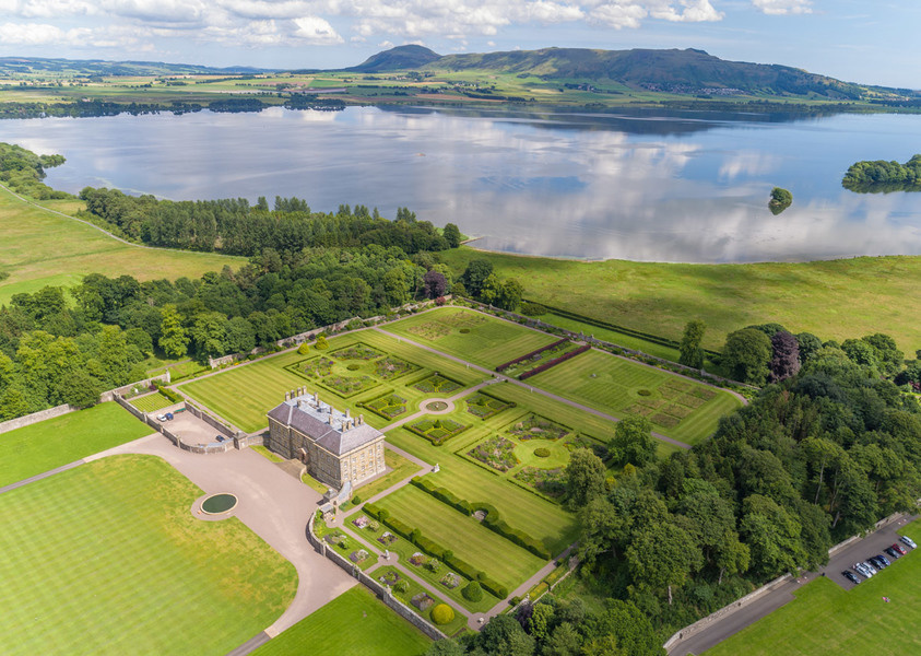 Kinross House in Perthshire where Justin Bieber stayed during his recent U.K. tour.
