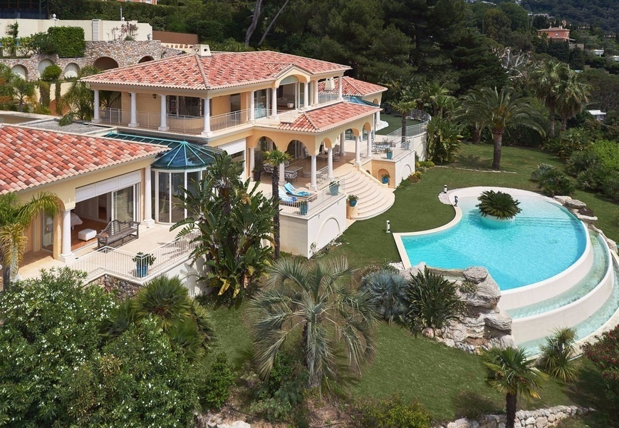 A four-bedroom, four-bathroom home on the market in La Californie neighborhood of Cannes