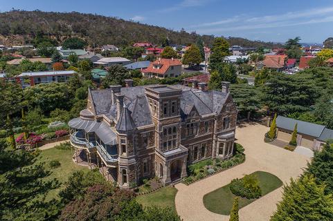 每日豪宅 | 哥特复兴风格的澳洲塔斯马尼亚岛豪华大宅
