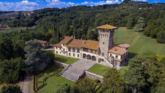 每日豪宅 | 耗时数百年建造的佛罗伦萨浪漫乡村别墅