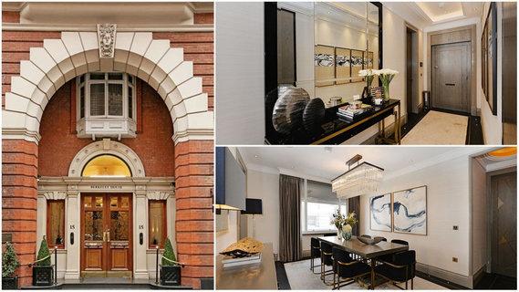 每日豪宅   精心装修的伦敦黄金地段转角公寓