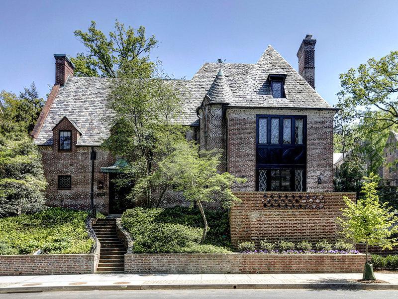 卸任后,奥巴马和家人将搬到这幢位于华盛顿特区的豪宅。