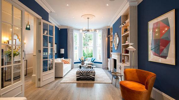 每日豪宅   精心改造的伦敦西区维多利亚式别墅